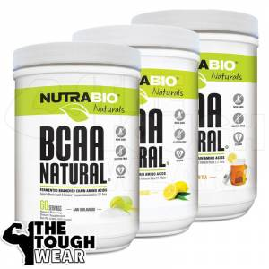 NutraBio BCAA NaturalL-Leucinenaturally fermented-veganL-Isoleucine naturally fermented - vegan