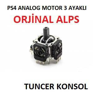 PS4 PLAYSTATİON 4 ANALOG 3 PİN MODEL DUALSHOCK 4 ANALOG MEKANİZMASI MOTORU ORJİNAL 3 AYAKLI ALPS