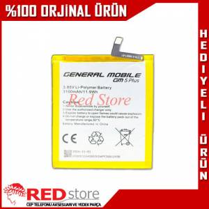 General Mobile GM 5 Plus Pil Batarya Orjinal 3100 mAh