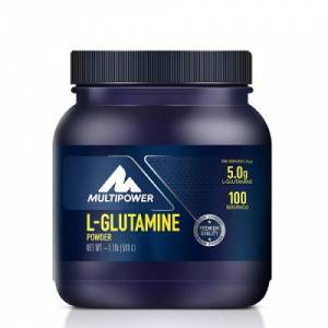 Multipower L-Glutamine Powder 500 gr  HEDİYE