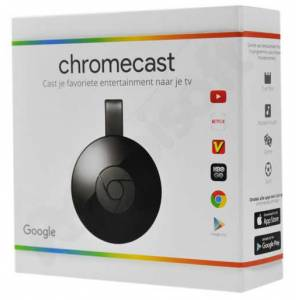 GOOGLE CHROMECAST 2 HDMI STREAMING MEDİA PLAYER ORJİNAL