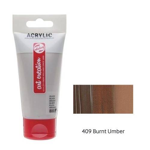 Talens Artcreation Akrilik Boya 75ml - N:409 Burnt Umber 441554536