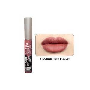 The Balm Meet Matte Hughes - SINCERE