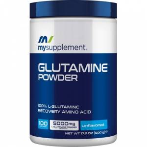 MySupplement Glutamine Powder 500 gr  2 HEDİYE