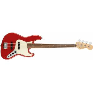 Fender Player Jazz Bass Sonic Red - Pau Ferro Bas Gitar