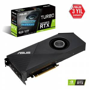ASUS GeForce RTX 2060 Turbo Edition 6GB 192Bit GDDR6