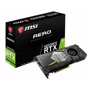 MSI GeForce RTX 2080 AERO 8GB 256Bit GDDR6