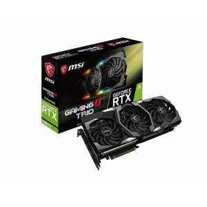 MSI GeForce RTX 2080 Ti Gaming X Trio 11GB 352Bit GDDR6 VR Ready