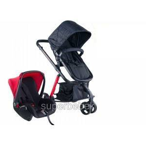 Soo Baby Crea Plus Travel Sistem Bebek Arabası Anthracite