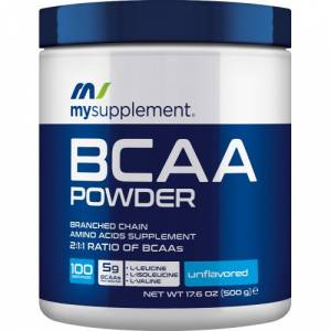 MySupplement BCAA Powder 500 gr  HEDİYE