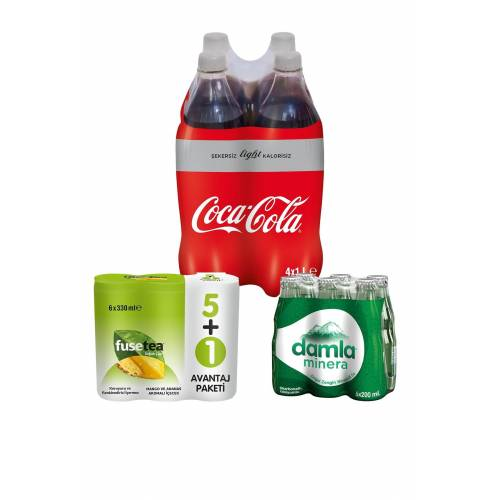 Coca-Cola Light Ramazan Paketi 4 442249418
