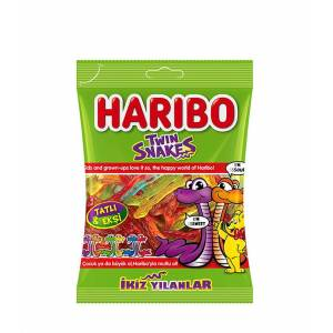 Haribo Twin snakes 80 gr