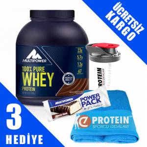 Multipower 100 Pure Whey Protein 2000 Gr ÇİLEK