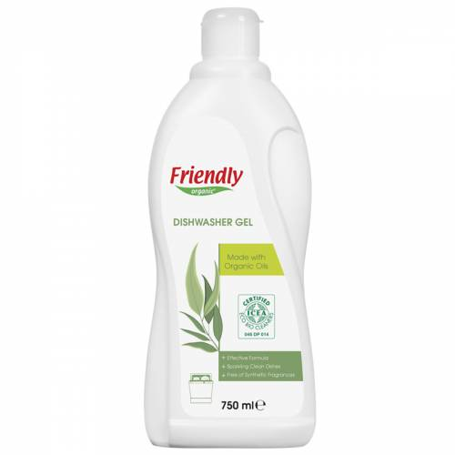 Friendly Organic Bulaşık Makinesi Jeli 750 ml