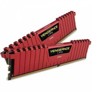 CORSAIR VENGEANCE RED 16GB 2X8GB DDR4 2400MHz CL14 CMK16GX4M2A2400C14R LPX SOGUTUCULU Pc Ram