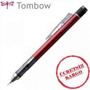 Tombow Mono Graph Versatil Kalem Bordo 0.5 mm