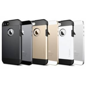 İPhone SE 5 5S Kılıf Tough Armor Case İnce Arka Kapak