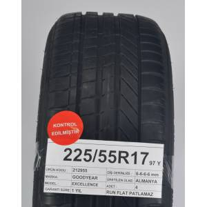 Goodyear 22555R17 97Y   6-6-6-6 mm Excellence