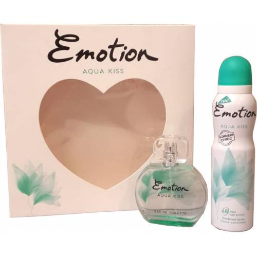 Emotion Aqua Kiss Parfüm Set 50 ml Edt 150 ml Deodarant 604756 443562893