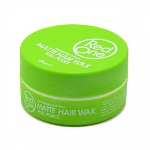 RED ONE MATTE HAIR WAX FULL FORCE GREEN - 150ML 444312781