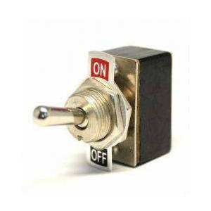 Toggle Switch 2 Pin 2 Konum On-Off 40x25x13mm