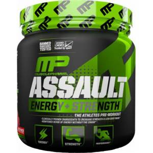 MusclePharm Assault Pre-Workout Powder for Improved Workouts30 Servis...ORIJINAL AMERİKAN