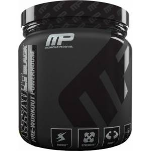 MusclePharm Assault Black Pre-Workout Powerhouse30 Servis...ORIJINAL AMERİKAN