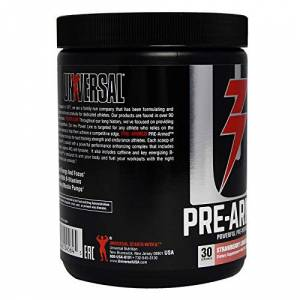 Universal Pre-Armed - Powerful Pre-Workout 30 ServisBetaAlanineCreatineArginineAKGTyrosine