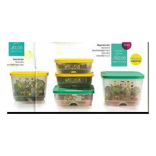 Tupperware sera set 5 li 445093153