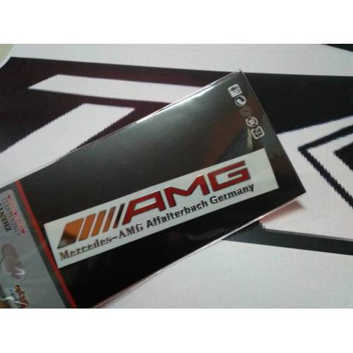 MERCEDES BENZ AMG TORPİDO STİCKER LOGO 445384100