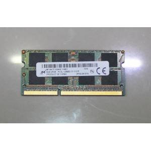 8GB PC3L DDR3 12800S-11-11-FP 1600 MHZ NOTEBOOK RAM MICRON