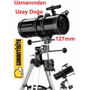 Celestron 21049 PowerSeeker 127EQ Teleskop 127mm