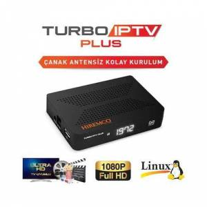 HIREMCO Turbo IP TV PLUS HD Uydu Alıcısı Wifi Anten Hediye