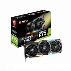 MSI Geforce RTX2080-TI 11GB GDDR6 352BIT 3xDP/HDMI/TYPE-C RTX 2080 TI GAMING TRIO Ekran Kartı