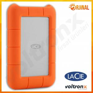 Lacie Rugged Mini 1TB USB 3.0 2.5 Taşınabilir Disk LAC301558