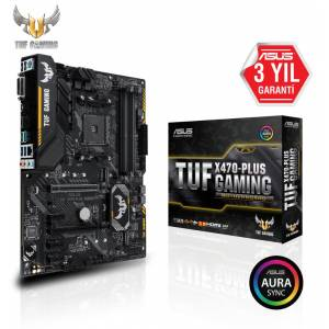 ASUS TUF X470-PLUS GAMING AM4 DDR4 SES GLAN DVIHDMI SATA3 USB3.1 ATX
