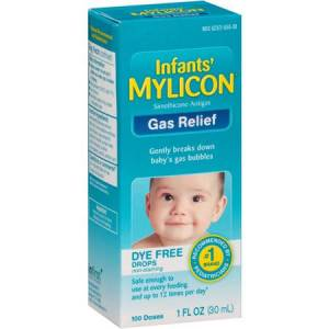 Infants' Mylicon Gas Relief Drops 30mL Made in USA