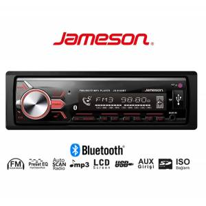 OTO TEYP USB/SD/FM BLUETOOTH 4X55W JAMESON JS-9130BT