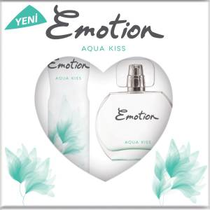Emotion Aqua Kiss EDT Parfüm 50 ml  Deodorant 150 ml