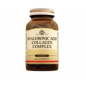 Solgar Hyaluronic Acid Collagen Complex 120 MG 30 Tablet.