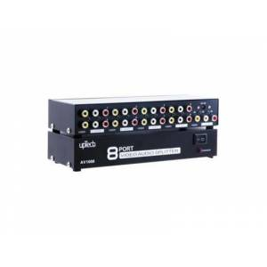 UPTECH Audio Video Dağıtıcı - 8 Port AV-1008