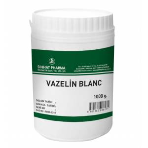 VAZELİN BLANC 1000 ml. SAF VE KATISIZ