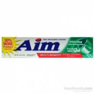 Aim Whitening Fresh Mint Gel Diş Macunu 170 Gr.