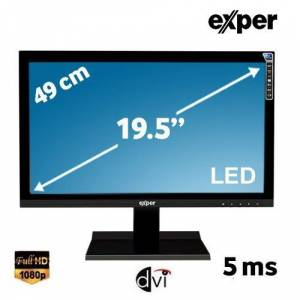 Exper H3L-GVDS 19.5 5ms AnalogDVISpeaker 1600x900 LED Monitör