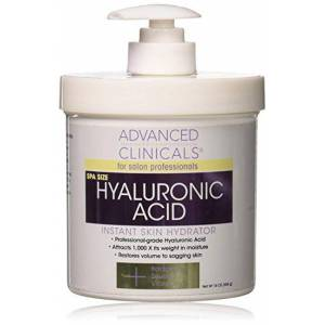 Advanced Clinicals Hyaluronic Acid Cream 454g