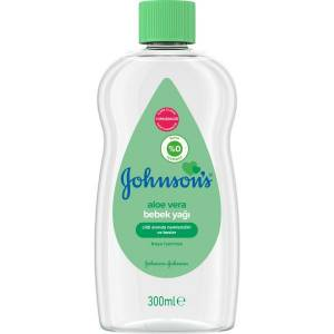 Johnsons Bebek Yağı Aloe Veralı 300 ml