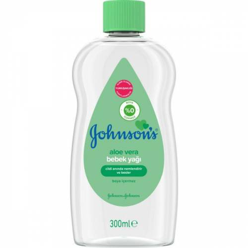 Johnsons Bebek Yağı Aloe Veralı 300 ml 449755489