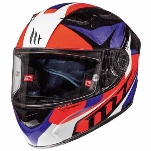 Mt Kask Mt KRE Lookout Gloss Black Red Blue - Tricomposite Gövde