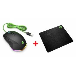 HP Pavilion Gaming Mouse 200 5JS07AA  Gaming MousePad 4PZ84AA