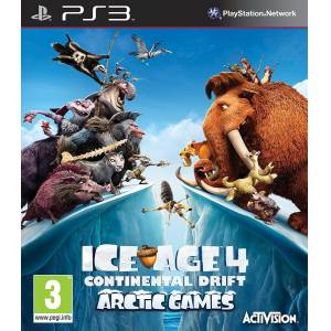 PS3 ICE AGE 4 CONTINENTAL DRIFT ARCTIC GAMES